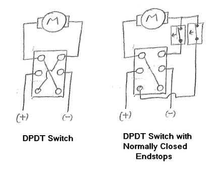 how to wire a dpdt switch to a motor cunningwiki